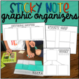 Reading Comprehension Graphic Organizers: Sticky Notes