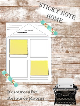 Sticky Note Home