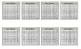 Sticky Note Hundreds Charts