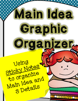 Finding the Main Idea Using Sticky Notes {ANY BOOK}