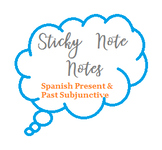 Sticky Note Notes- Present and Past Subjunctive