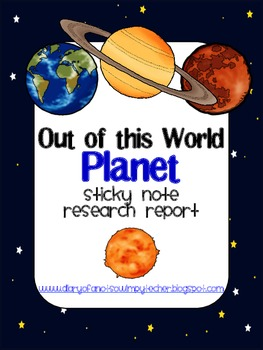 Sticky Note Planet Report