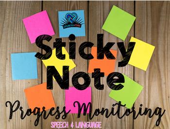 Sticky Note Progress Monitoring
