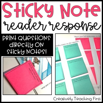 Sticky Note Reader Response