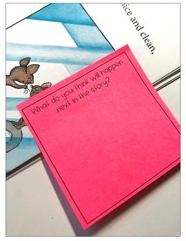 Sticky Note Reader Response