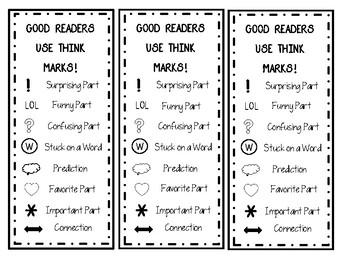 Sticky Note Reading Bookmark