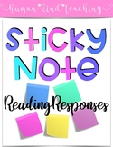 Sticky Note Reading Responses