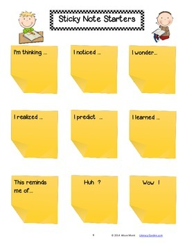 CLOSE READING with ANY BOOK {Using Sticky Notes}