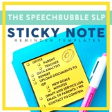 Sticky Note Reminder Templates