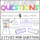 Sticky Note Response Questions & Album