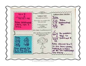 Sticky Note SideKick Gr. 2- Math Task Partner Collaborations