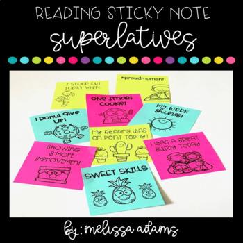 Sticky Note Superlatives