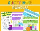 Sticky Note Template BUNDLE