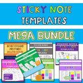 Sticky Note Template MEGA BUNDLE