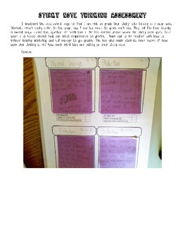 Sticky Note Thinking Assessment
