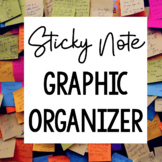 Sticky Note Vocabulary Words - Graphic Organizer