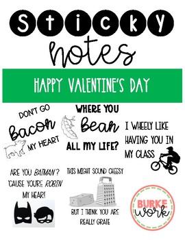 Sticky Notes: Valentine's Day Edition