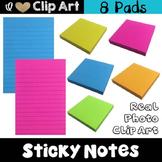 Sticky Notes Clip Art