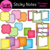 Sticky Notes {Clipart}