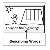 Sticky Notes- Describing Words