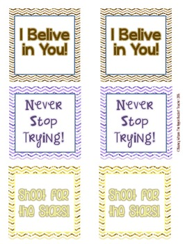 Sticky Notes ~ Encouraging Set