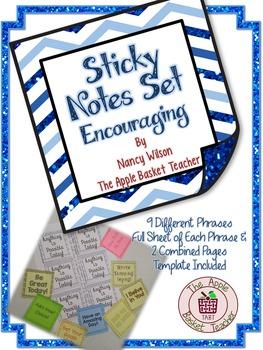 Sticky Notes ~ Encouraging Set