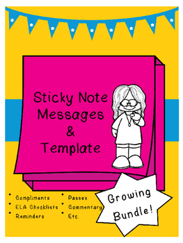 Sticky Notes Printing - Growing Bundle