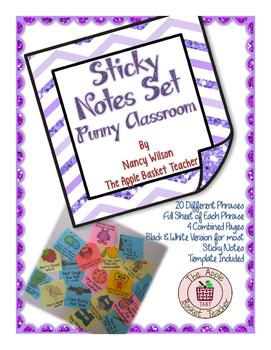 Sticky Notes ~ Punny Set