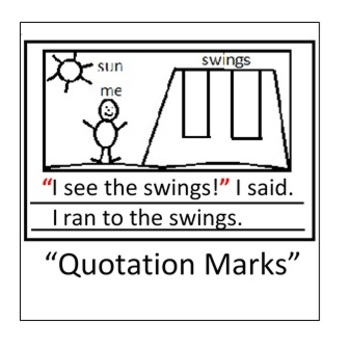 Sticky Notes- Quotation Marks