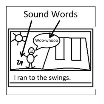 Sticky Notes- Sound Words