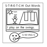 Sticky Notes- Stretching Words