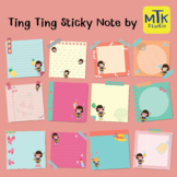 Sticky note and Clip art for Digital Planner
