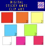 Sticky note clip art
