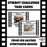 Stikbot & Stop Motion Task Cards for Makerspace, Morning W