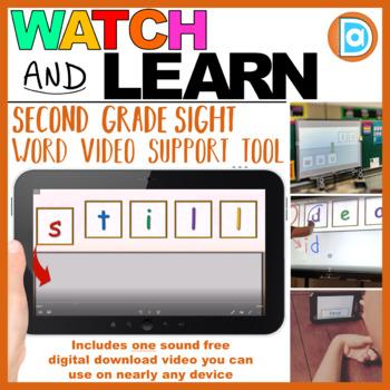 RTI | Second Grade Sight Word Fluency Tool | Still