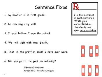 Still In a Fix in First Grade