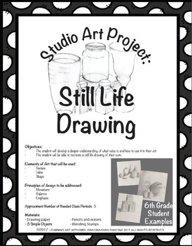 Still Life Drawing Project