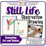 Art Lesson Still Life Observation Drawing