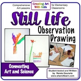 Art Lesson Still Life Observation Drawing