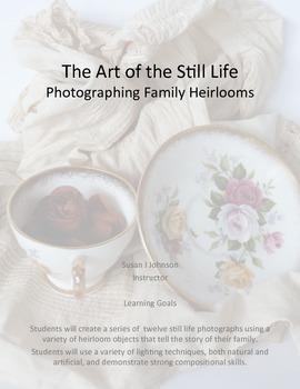 Still Life Photography - My Family Story