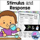 Stimulus and Response: Cut and Paste Activity