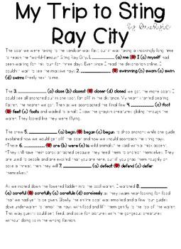 Sting Ray City FSA/PARCC ELA Task