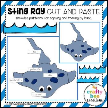 Sting Ray Craft (Label It!)