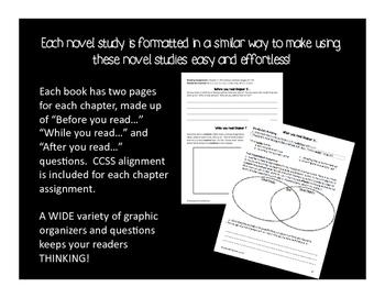 Stink #1-3 Novel Study Bundle