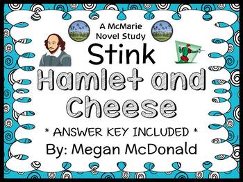Stink Hamlet and Cheese (Megan McDonald) Novel Study (24 pages)