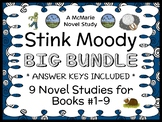 Stink Moody COLLECTION (Megan McDonald) All 9 Novel Studies / Comprehension
