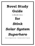 Stink, Solar System Superhero Novel Study