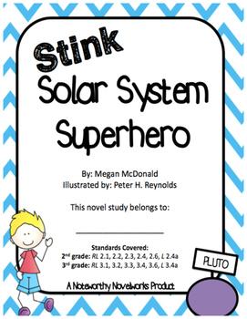 Stink: Solar System Superhero Novel Study (#5)