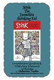 Stink: The Incredible Shrinking Kid - 4 Quizzes - Comprehension-Vocabulary