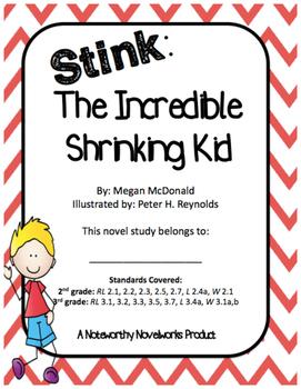Stink: The Incredible Shrinking Kid Novel Study (#1)